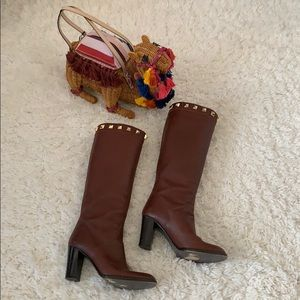 👢 Brown Studded Boots 👢